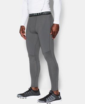 Men's UA ColdGear® Armour Insulated Compression Leggings  1 Color $54.99