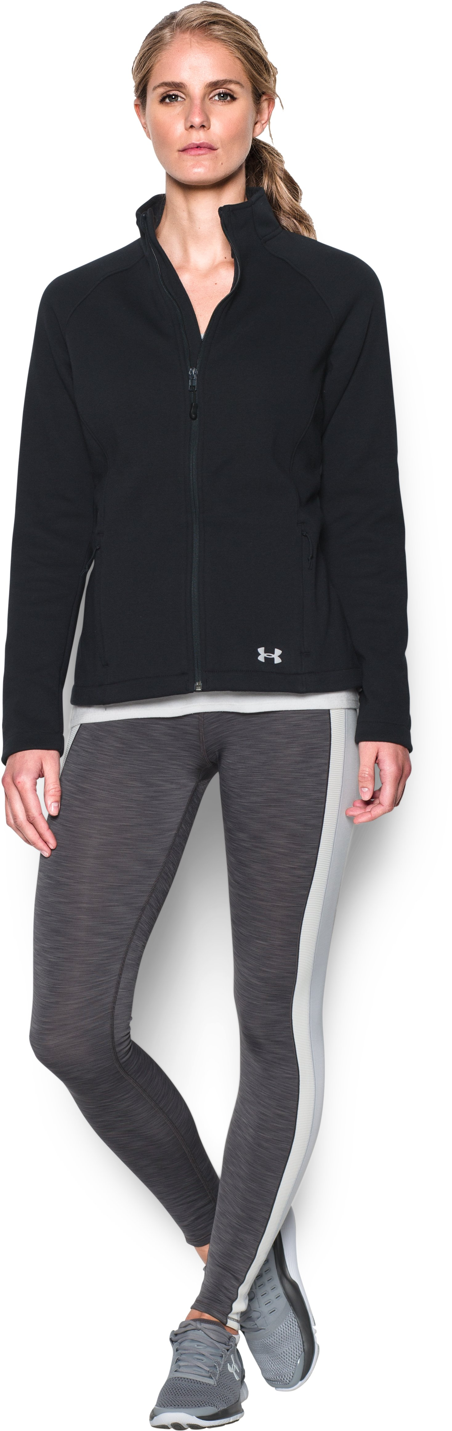 Women's UA Granite Jacket, Black , zoomed image