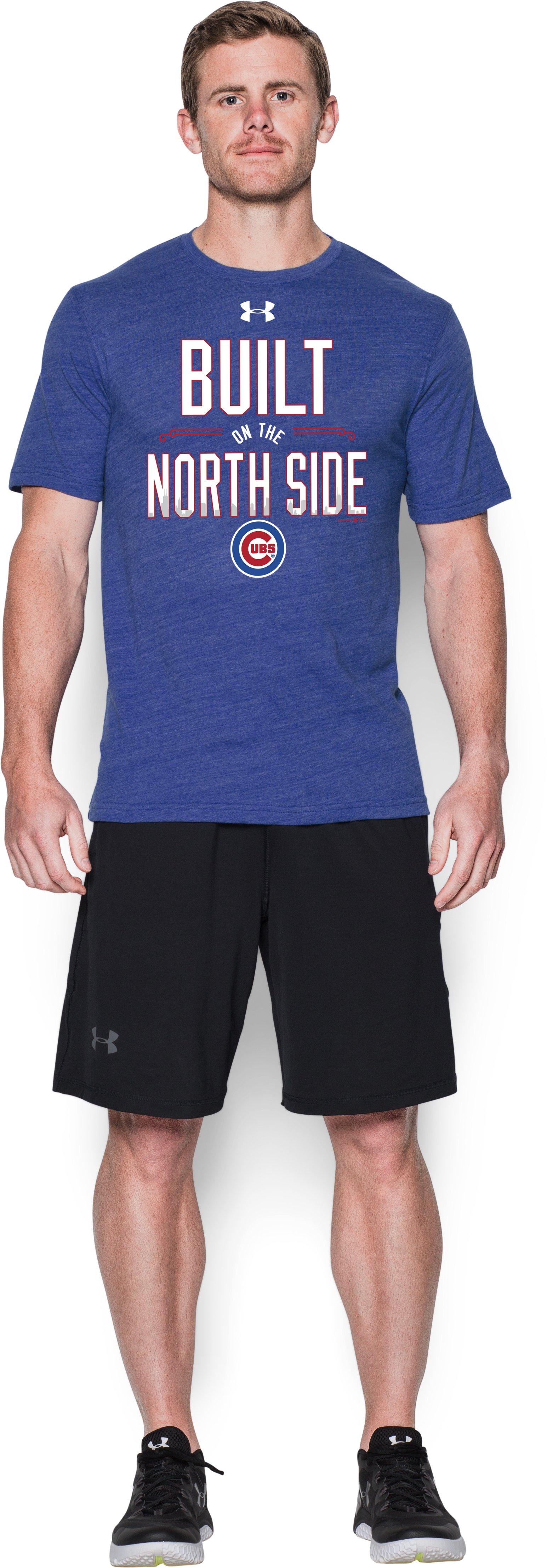 Men's Chicago Cubs North Side T-Shirt, Royal, Front