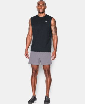 Best Seller Men's UA Streaker Run Sleeveless LIMITED TIME: FREE SHIPPING 1 Color $29.99