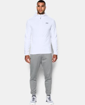 New Arrival  Men's UA ColdGear® Infrared Grid Fitted Hoodie   $89.99