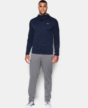 New Arrival  Men's UA ColdGear® Infrared Grid Fitted Hoodie  1 Color $89.99