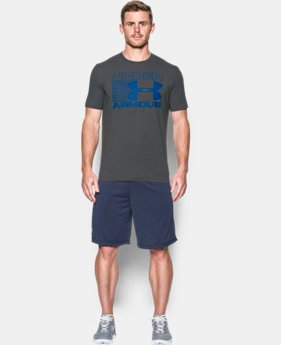 Men's UA Blitz Logo T-Shirt  LIMITED TIME: FREE SHIPPING 4 Colors $24.99