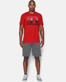 Men's UA Blitz Logo T-Shirt  LIMITED TIME: FREE U.S. SHIPPING 1 Color $18.99