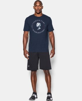 Men's UA x Muhammad Ali Cassius Make History T-Shirt LIMITED TIME: FREE SHIPPING  $34.99