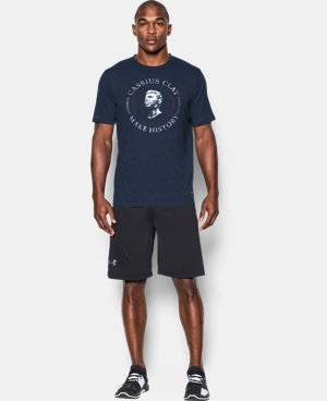 Men's UA x Muhammad Ali Cassius Make History T-Shirt  1 Color $34.99