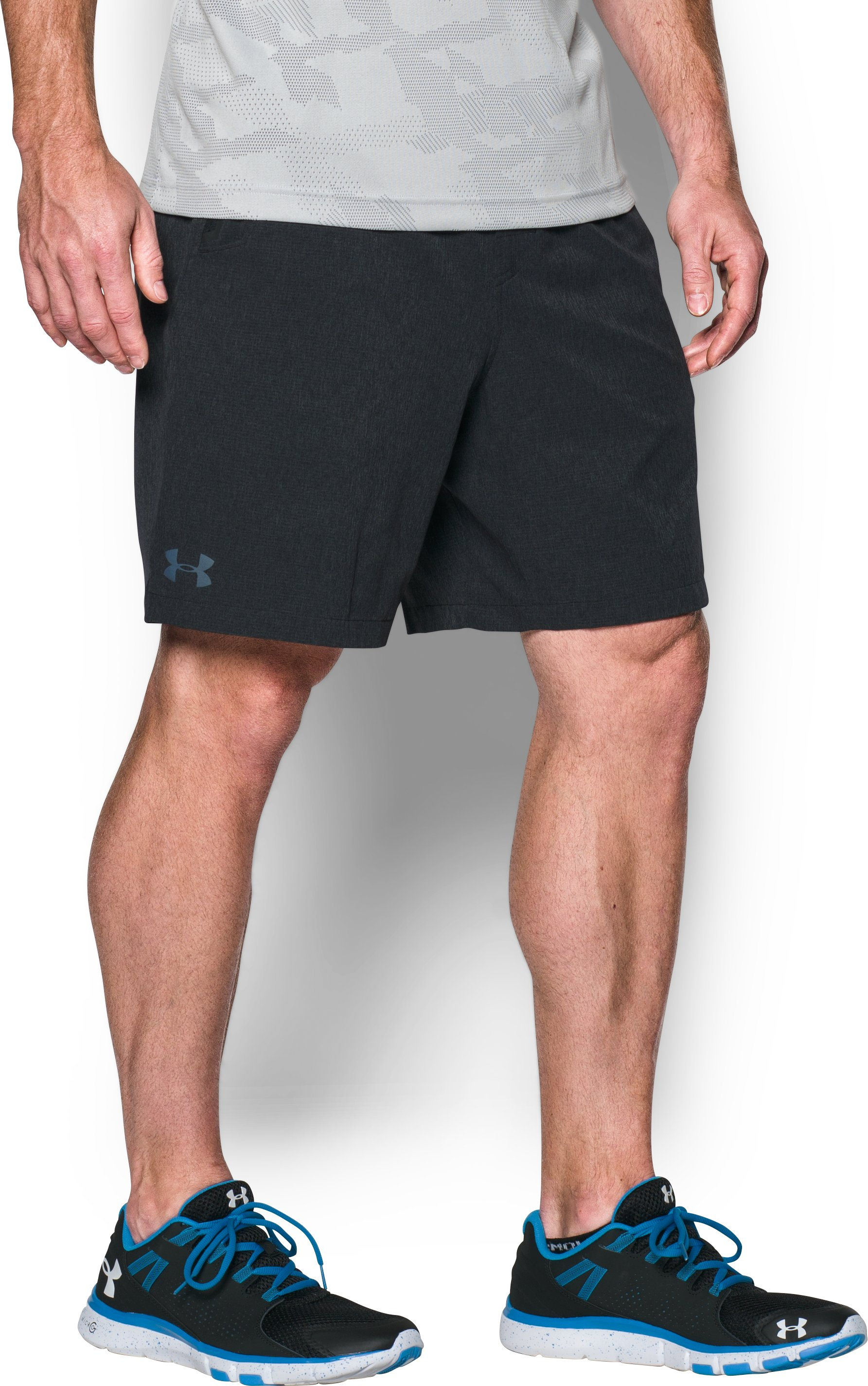 Men's UA Scope Shorts, Asphalt Heather