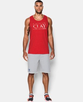Best Seller Men's UA x Muhammad Ali Cassius Americana Tank LIMITED TIME: FREE SHIPPING 1 Color $34.99