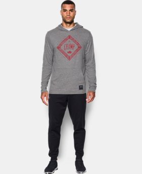 New Arrival  Men's UA x Muhammad Ali Cassius Tri-Blend Hoodie  1 Color $59.99
