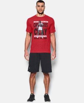 Men's UA x Muhammad Ali Cassius 6th Bout T-Shirt LIMITED TIME: FREE SHIPPING 1 Color $34.99