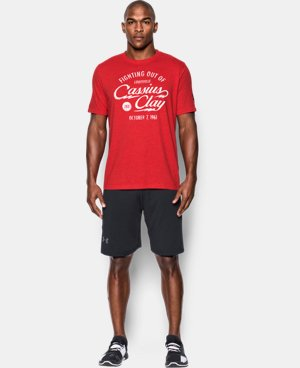 New Arrival Men's UA x Muhammad Ali Cassius 9th Bout T-Shirt  1 Color $34.99