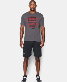 New Arrival Men's UA x Muhammad Ali Cassius 10th Bout T-Shirt  1 Color $34.99