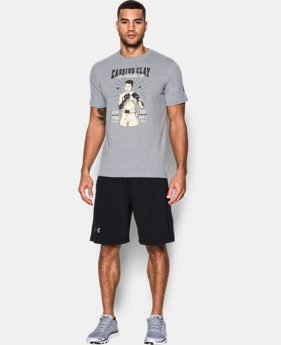 New Arrival Men's UA x Muhammad Ali Cassius 11th Bout T-Shirt  1 Color $34.99