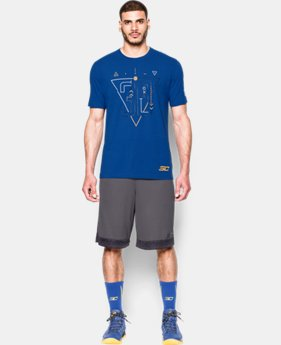New to Outlet Men's SC30 Iconic Warrior T-Shirt  1 Color $20.99