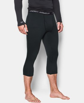 New Arrival  Men's UA Base 2.0 ¾ Leggings LIMITED TIME: FREE SHIPPING 1 Color $64.99