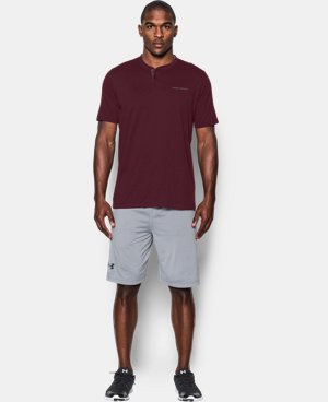 Best Seller Men's Charged Cotton® Henley T-Shirt   1 Color $29.99