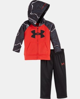 Boys' Infant UA Map Jagger Hoodie Set