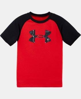 Boys' Pre-School UA Map Jagger Big Logo T-Shirt