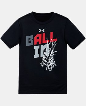 Boys' Pre-School UA Ball In T-Shirt