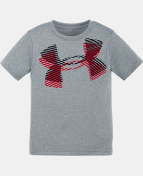 Boys' Pre-School UA Layered Big Logo T-Shirt