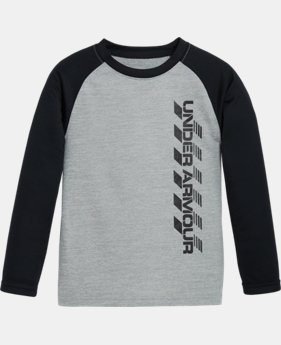 Boys' Toddler UA Crosswalk Raglan Long Sleeve