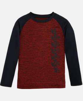 Boys' Pre-School UA Crosswalk Raglan Long Sleeve