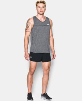 New Arrival  Men's UA Performance Run Split Shorts LIMITED TIME: FREE SHIPPING 1 Color $44.99