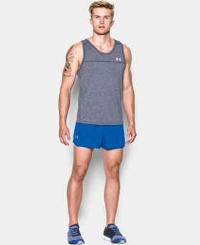 Men's UA Performance Run Split Shorts  1 Color $39.99
