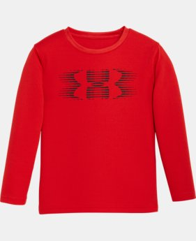 Boys' Pre-School UA Speed Logo Long Sleeve