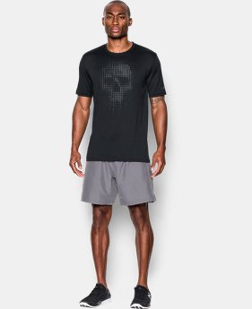 New Arrival  Men's UA Run Skull T-Shirt  1 Color $32.99