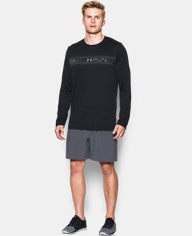New Arrival  Men's UA Run Icon T-Shirt LIMITED TIME: FREE SHIPPING 2 Colors $39.99