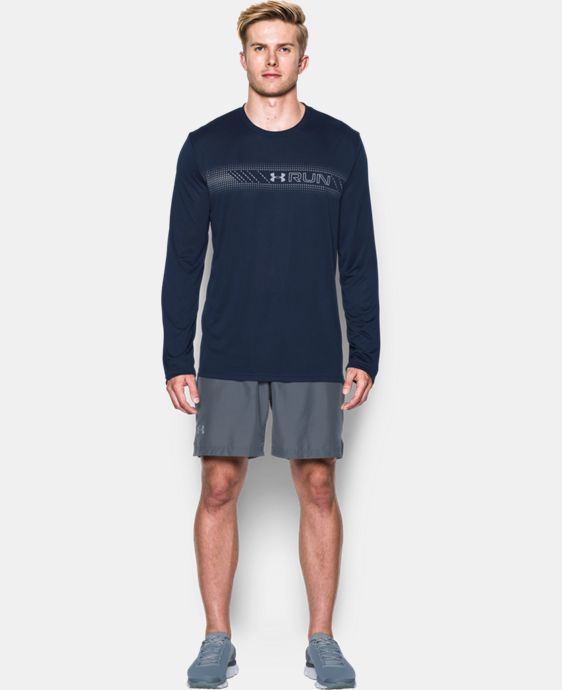 Men's UA Run Long Sleeve T-Shirt LIMITED TIME: FREE SHIPPING 1 Color $26.99