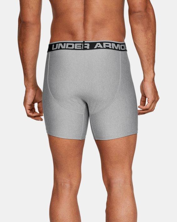 """Boxers UA Original Series 6"""" Boxerjock® pour homme, lot de 2, Gray, pdpMainDesktop image number 2"""