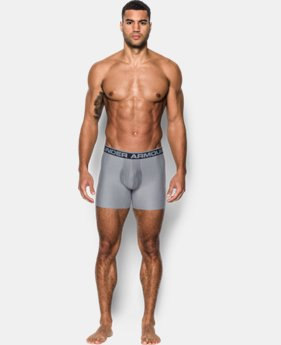 "Men's UA Original Series 6"" Boxerjock® – 2-Pack  3  Colors Available $35"