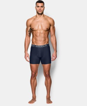 "New Arrival  Men's UA Original Series 6"" Boxerjock® 2-Pack   $39.99"