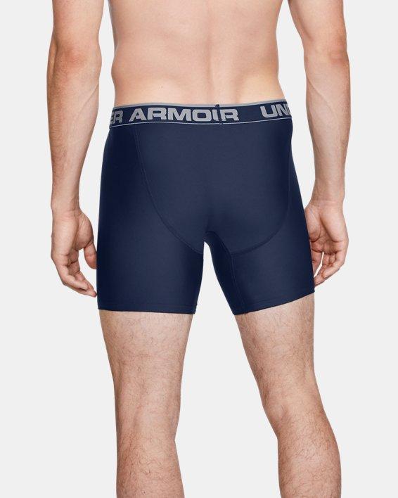 "Men's UA Original Series 6"" Boxerjock® - 2-Pack, Navy, pdpMainDesktop image number 2"