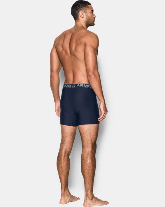 "Men's UA Original Series 6"" Boxerjock® - 2-Pack, Navy, pdpMainDesktop image number 1"