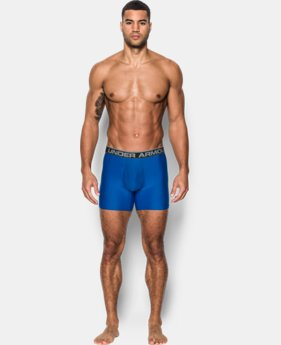 "Best Seller Men's UA Original Series 6"" Boxerjock® – 2-Pack  6 Colors $35"