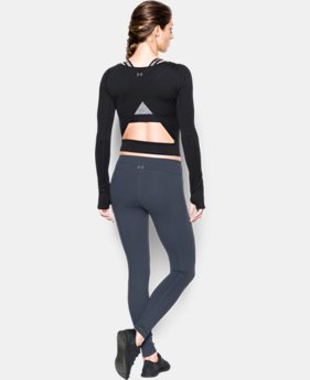 Women's UA Wishbone Long Sleeve Crop LIMITED TIME: FREE SHIPPING 1 Color $69.99