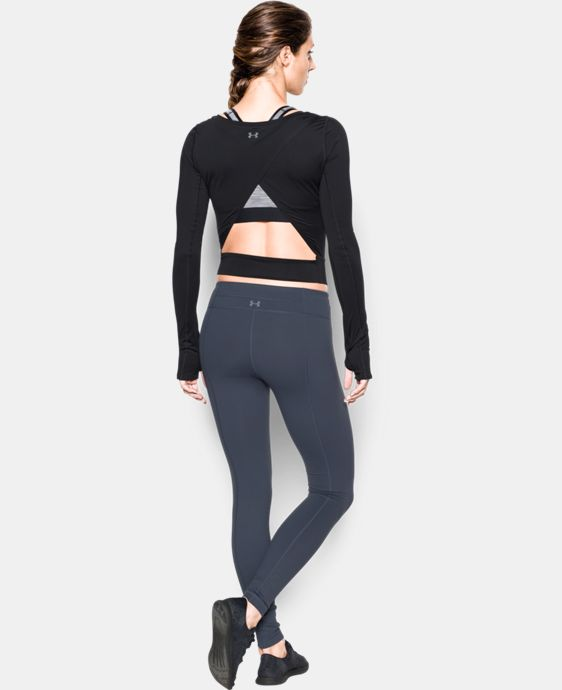 Women's UA Wishbone Long Sleeve Crop  1 Color $69.99