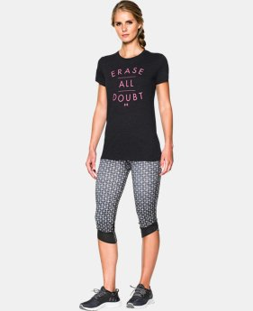 Women's UA Erase All Doubt Tri-Blend T-Shirt  1 Color $18.99