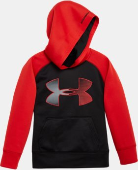 Boys' Toddler UA Jumbo Big Logo Hoodie