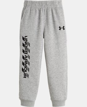 Boys' Pre-School UA Crosswalk Fleece Pants