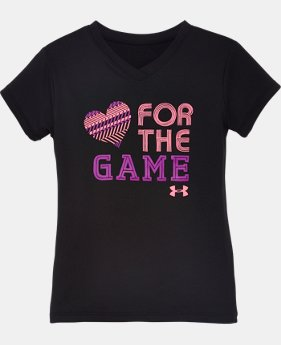 Girls' Pre-School UA For The Game T-Shirt