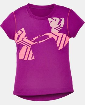 Girls' Pre-School UA Faded Icon T-Shirt