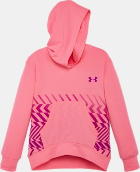Girls' Pre-School UA Face Off Pullover Hoodie