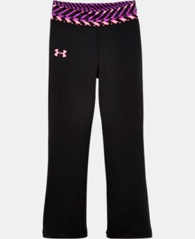 Girls' Toddler UA Zig Zag Yoga Pants