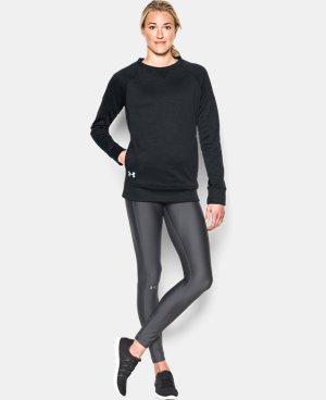 Best Seller Women's UA Armour® Fleece Textured Long Sleeve Crew LIMITED TIME: FREE U.S. SHIPPING 2 Colors $59.99