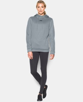 Women's UA Armour® Fleece Textured Hoodie   $38.99