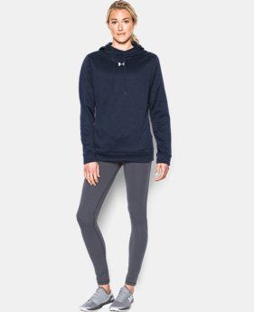Women's UA Armour® Fleece Textured Hoodie LIMITED TIME: FREE U.S. SHIPPING  $64.99